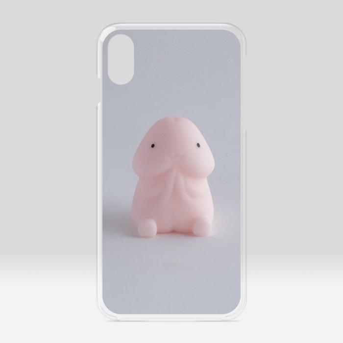 クリアiPhoneケース - iPhone XSMax