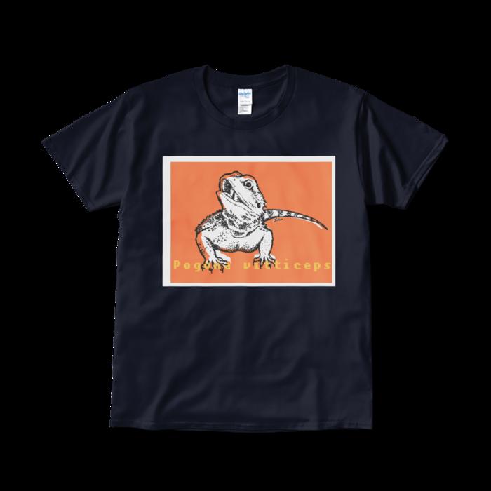 Tシャツ(短納期) - L - ネイビー(1)