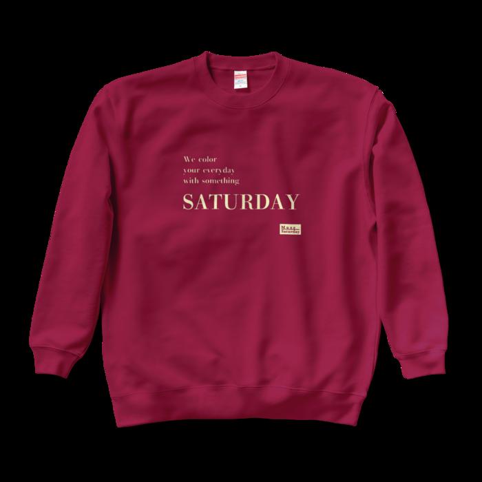 Saturday《Logo typeC》- XL -