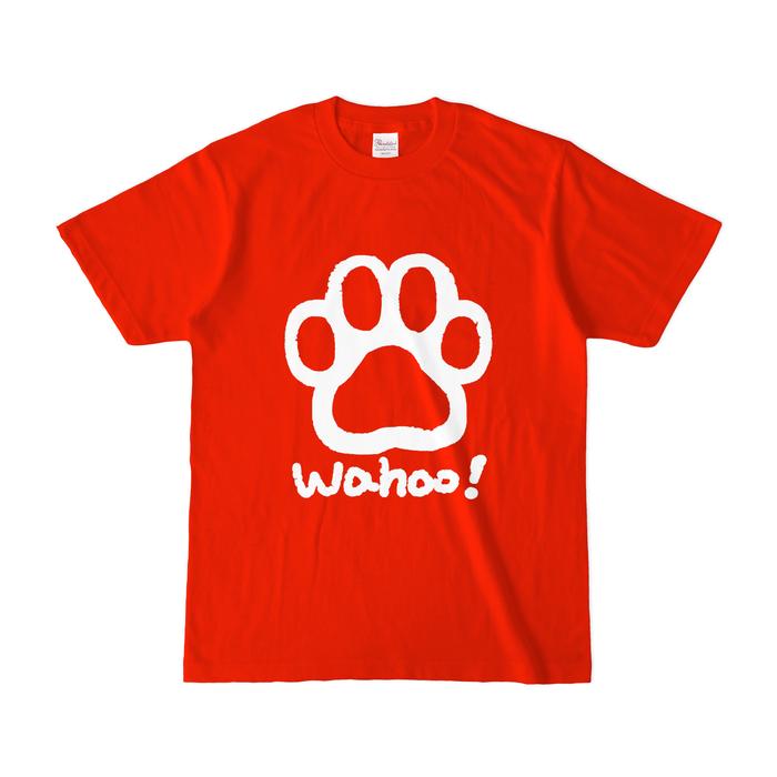 カラーTシャツ(濃色) - S - レッド
