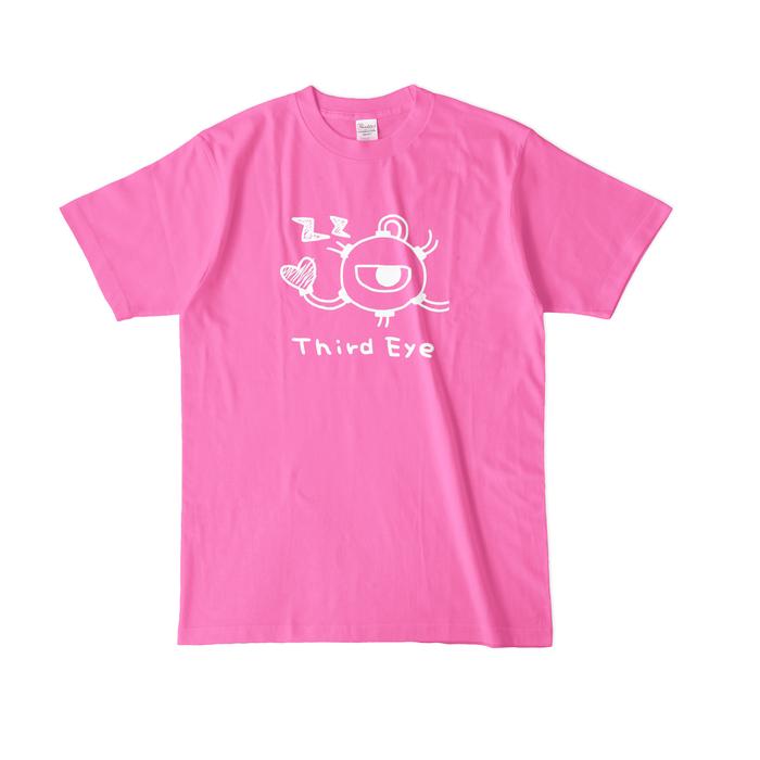 カラーTシャツ(濃色) - L - ピンク