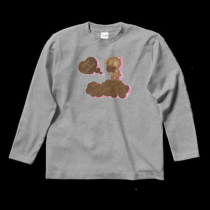 ロングスリーブTシャツ - S - 杢グレー