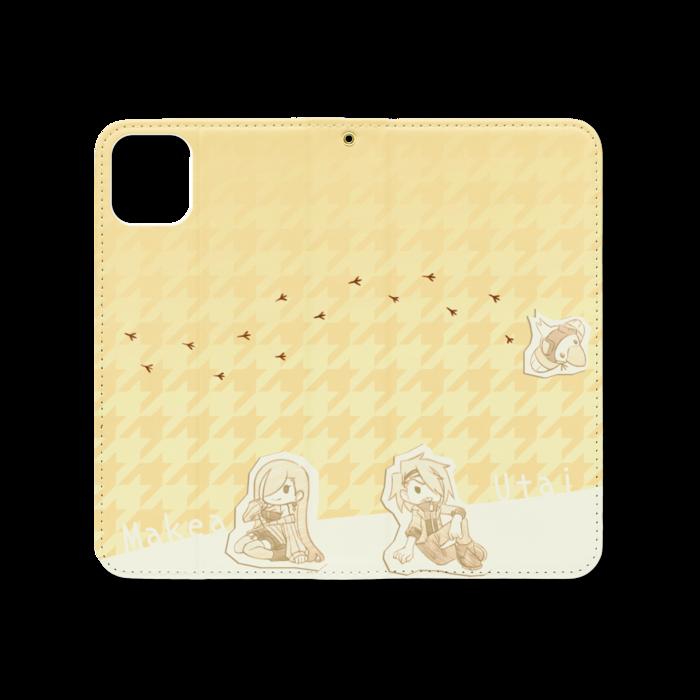 手帳型iPhoneケース(ベルトなし) - iPhone 11 Pro Max - ストラップ穴 あり