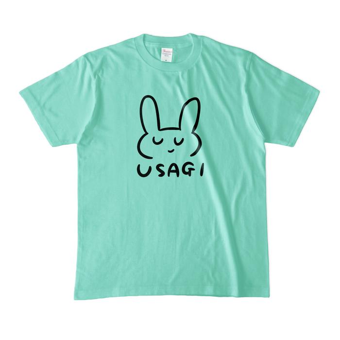 カラーTシャツ(淡色) - M - アイスグリーン