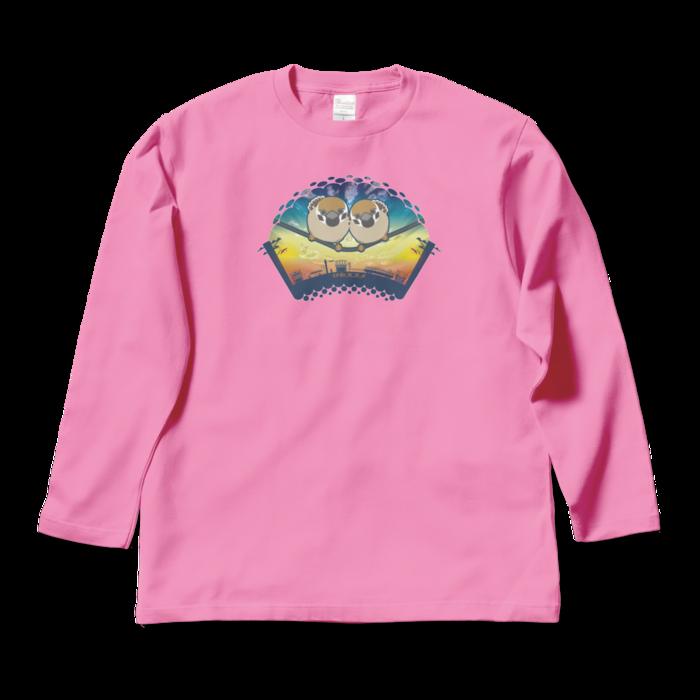 ロングスリーブTシャツ - L - ピンク