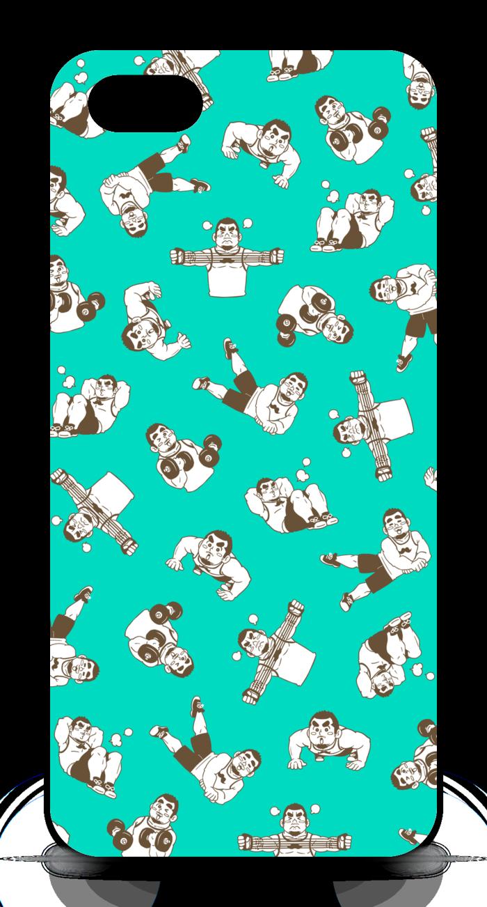 iPhoneケース - iPhone5 - 正面印刷のみ