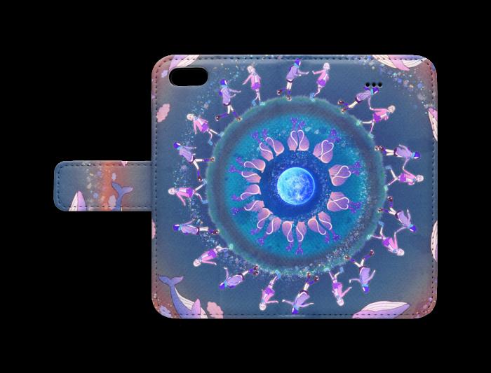 手帳型iPhoneケース - iPhone5 - ストラップ穴 なし