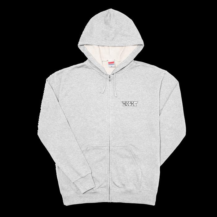 ピュアホワイト - XL - 杢グレー