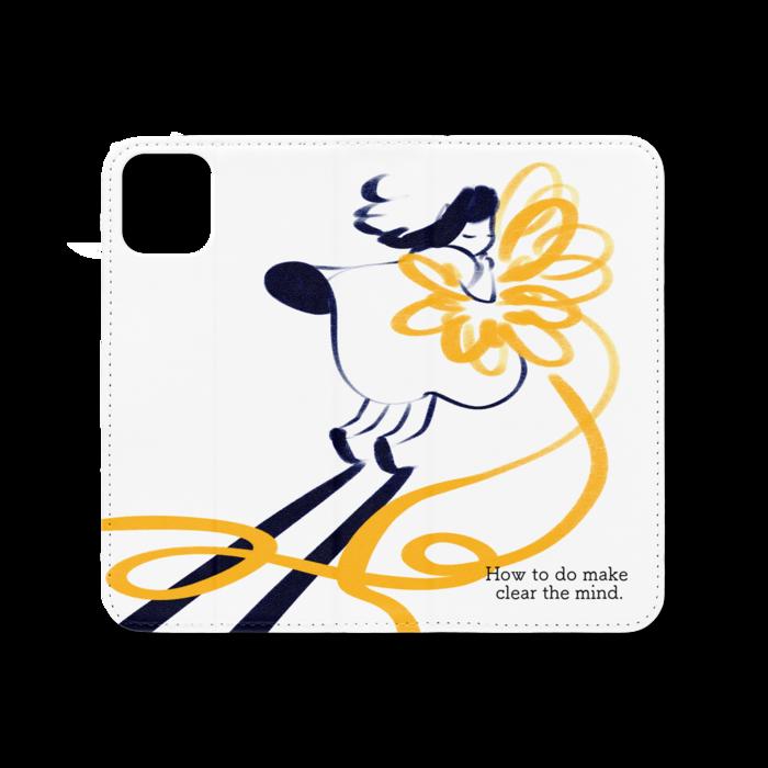 手帳型iPhoneケース(ベルトなし) - iPhone 11 - ストラップ穴 なし