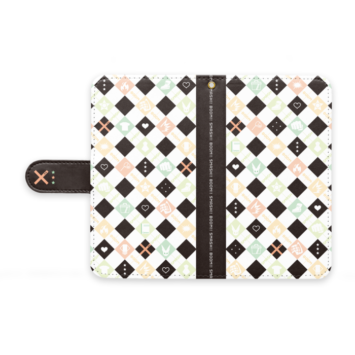 手帳型Androidケース - M - ストラップ穴 あり