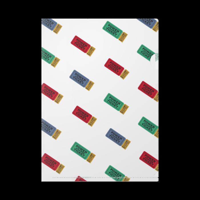 クリアファイル - A4