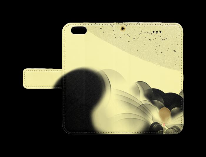 手帳型iPhoneケース - iPhone6 - ストラップ穴 あり