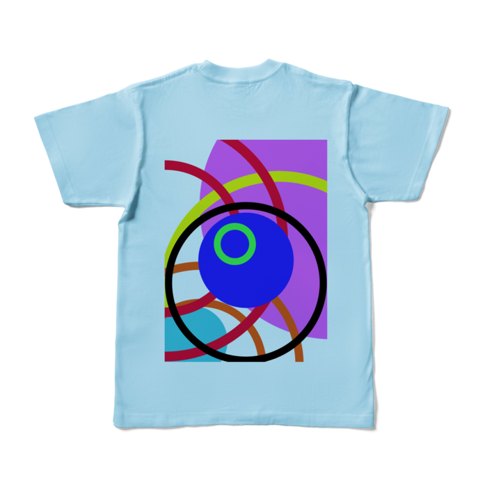 カラーTシャツ - S - ライトブルー (淡色)