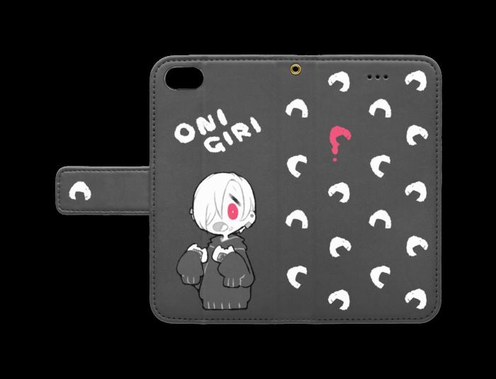 手帳型iPhoneケース - iPhone7 - ストラップ穴 あり