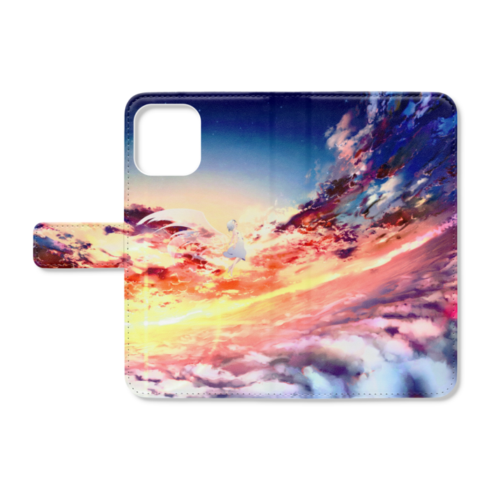 手帳型iPhoneケース - iPhone12 ProMax - ストラップ穴 なし