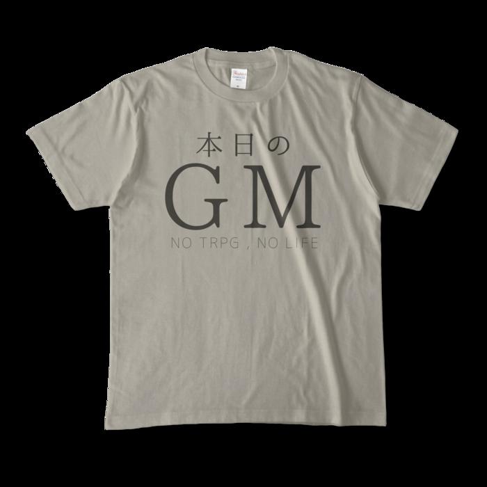 カラーTシャツ - M - シルバーグレー