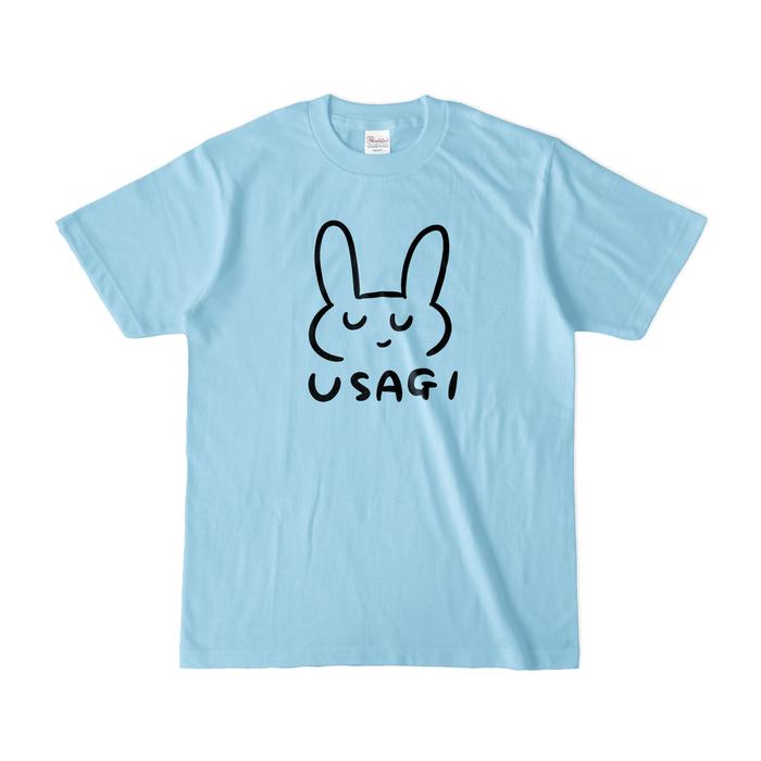 カラーTシャツ(淡色) - S - ライトブルー