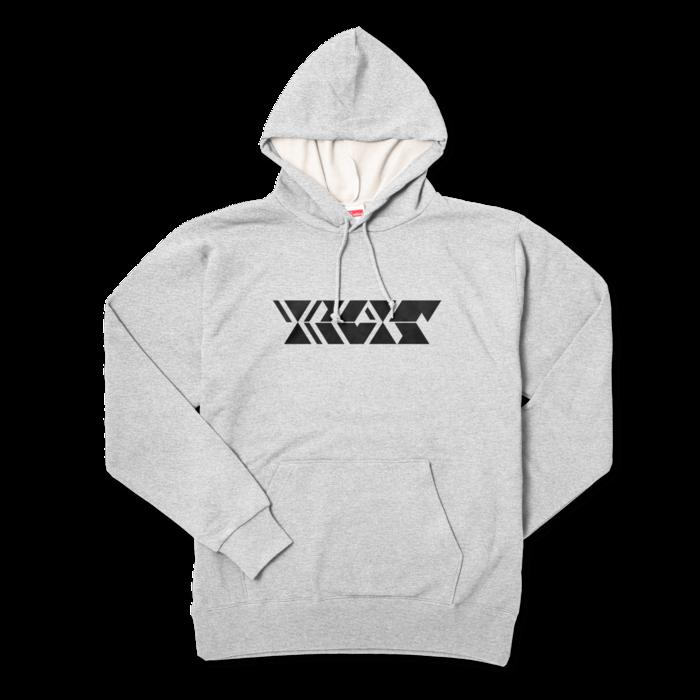 ソリッドブラック - XL - 杢グレー