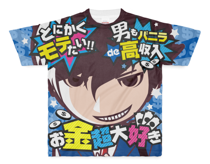バニ男Tシャツ - M - 両面印刷