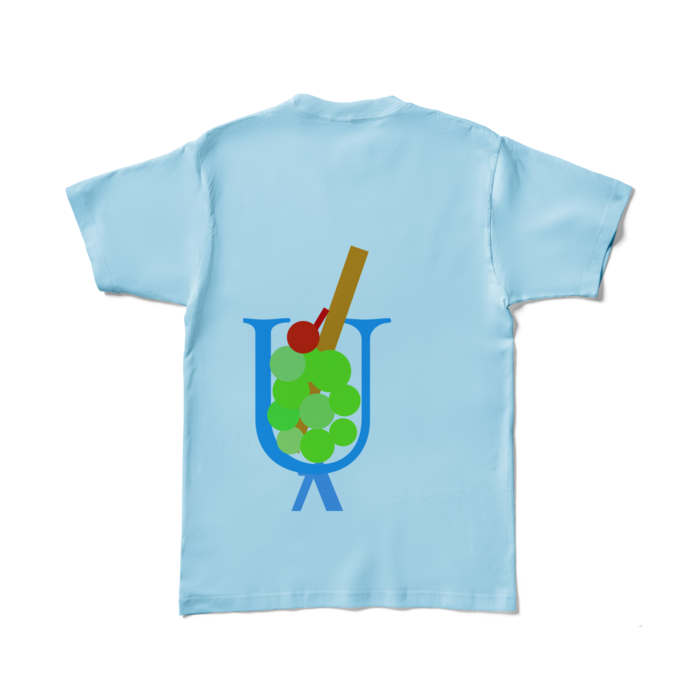 カラーTシャツ - L - ライトブルー (淡色)