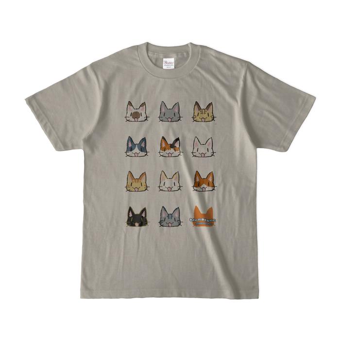 カラーTシャツ(淡色) - S - シルバーグレー