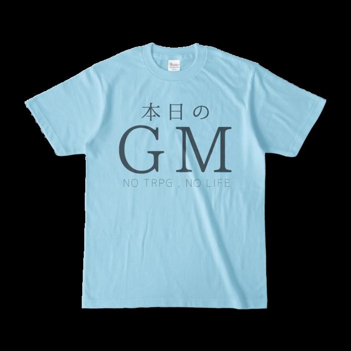 カラーTシャツ - S - ライトブルー(1)