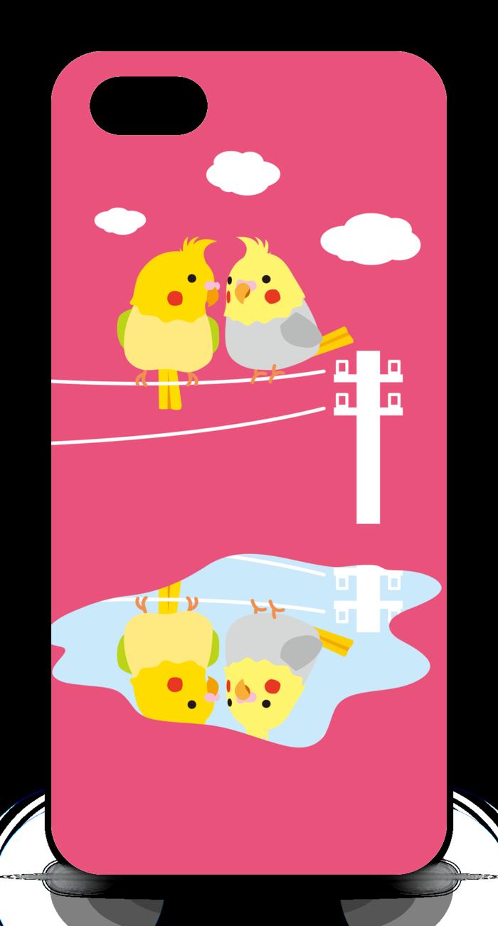 【ピンク】iPhone5ケース