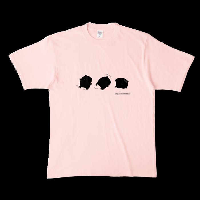 カラーTシャツ - XL - ライトピンク