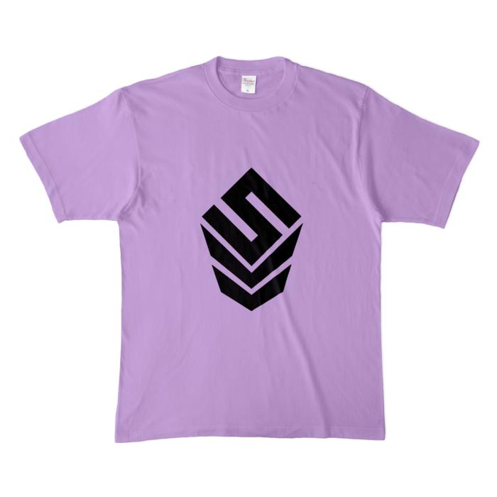 カラーTシャツ(淡色) - XL - ライトパープル