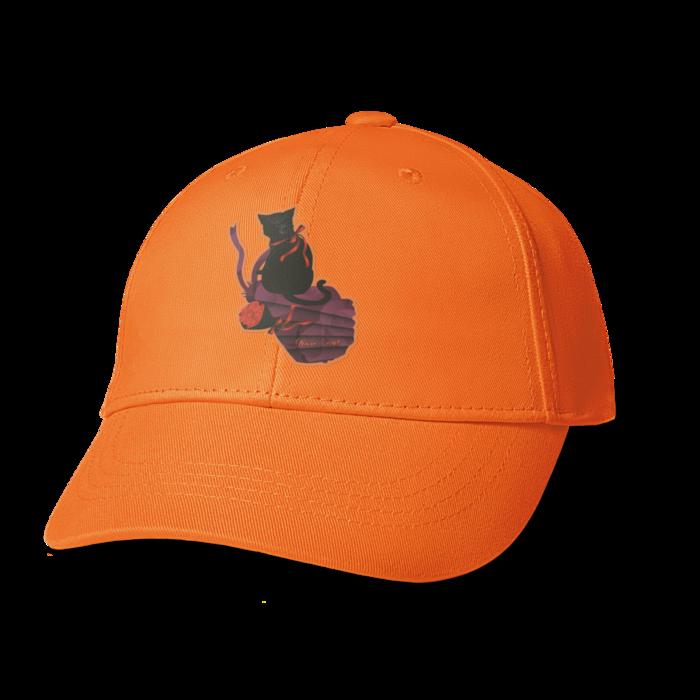 キャップ - オレンジ