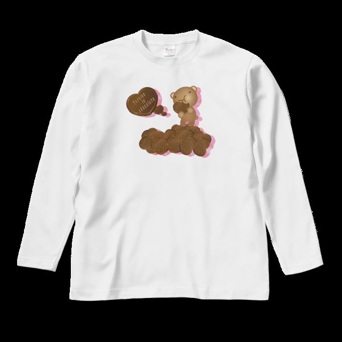 ロングスリーブTシャツ - M - ホワイト