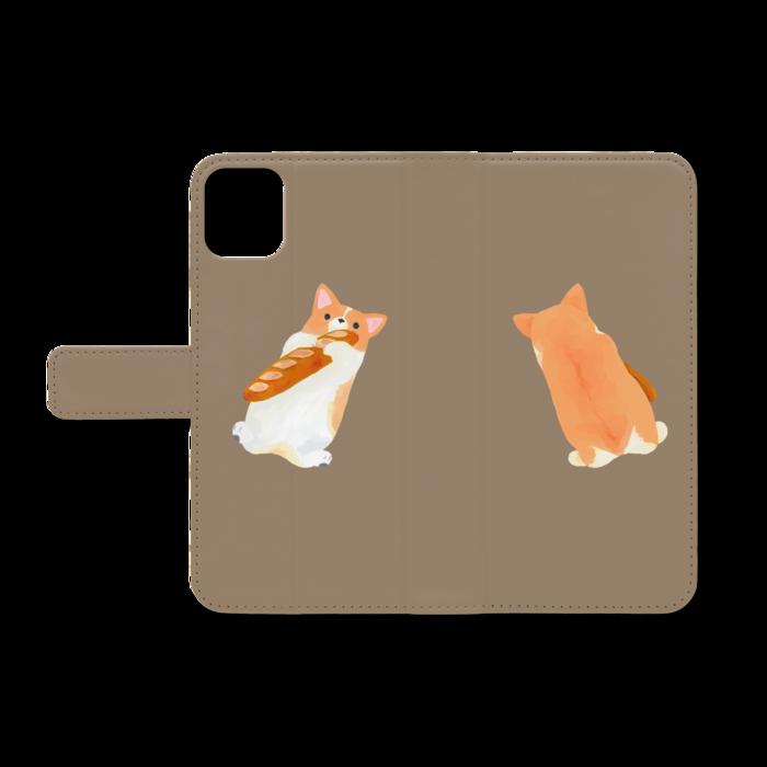 手帳型iPhoneケース - iPhone11ProMax - ストラップ穴 なし