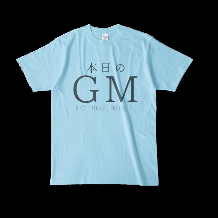 カラーTシャツ - L - ライトブルー(1)