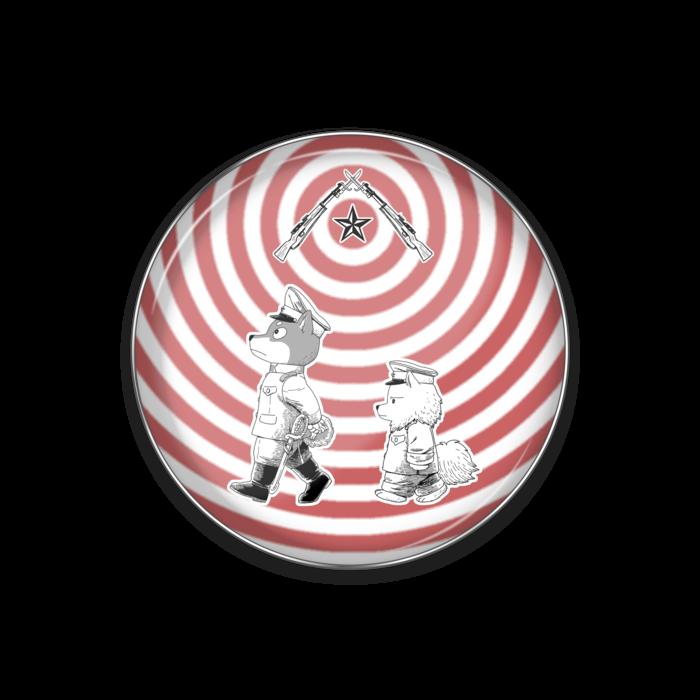 ピンバッジ - 丸形25mm