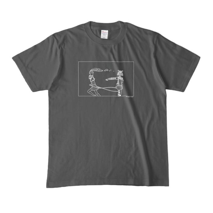 カラーTシャツ(濃色) - M - チャコール