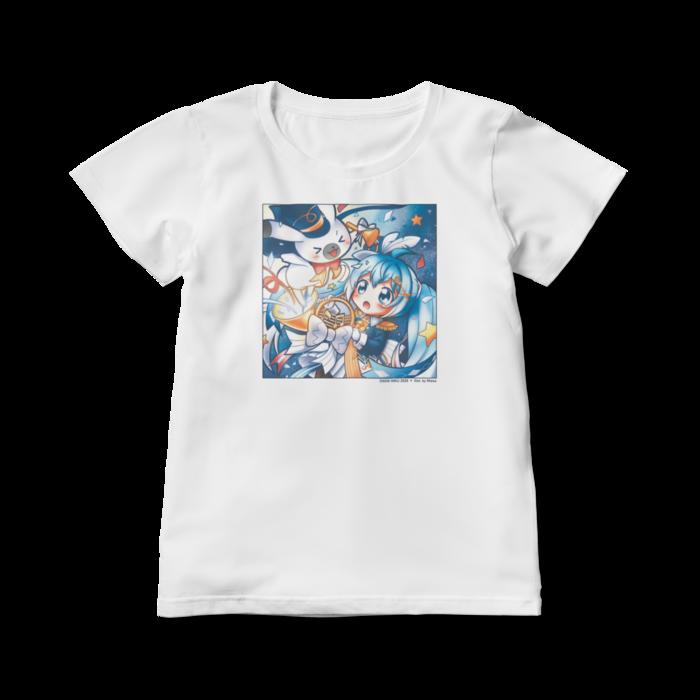 レディースTシャツ - L - 白
