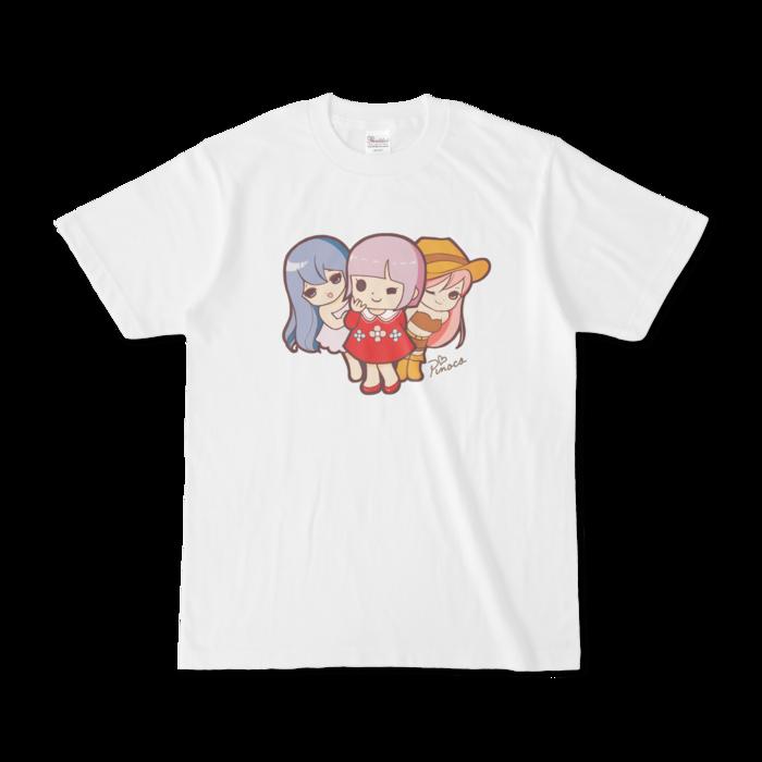 パチ7コミック ピノコtシャツ おとめ3人組 白 パチ7ショップ パチンコ パチスロポータルサイト パチセブン グッズ Booth