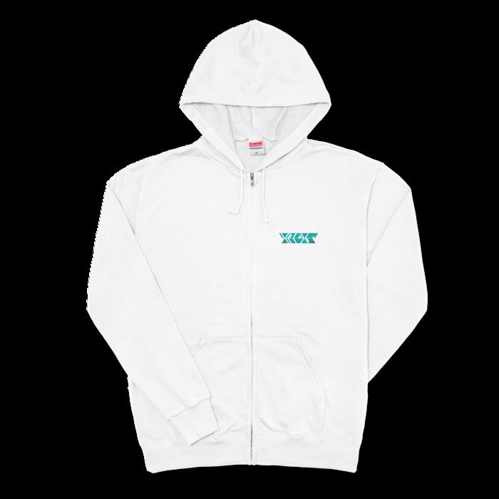 サイケグリーン - XL - ホワイト