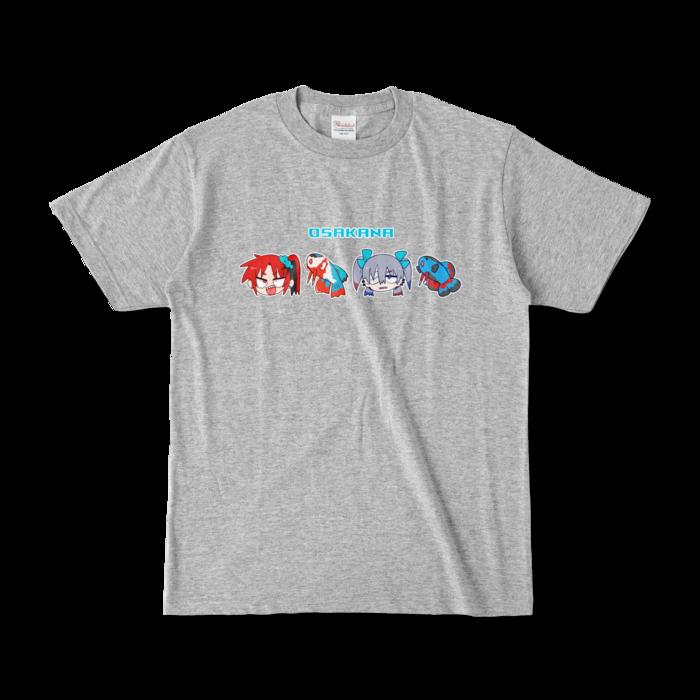 カラーTシャツ - S - 杢グレー (濃色)