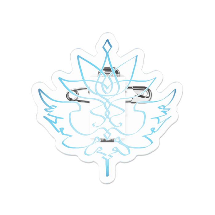 アクリルバッジ - 50 x 50 (mm)