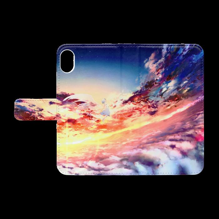 手帳型iPhoneケース - iPhone XR - ストラップ穴 なし