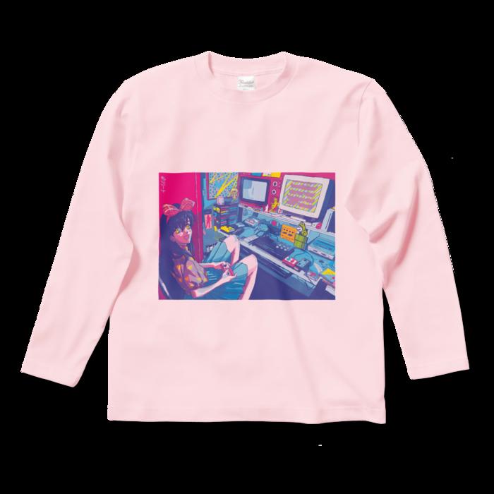 ロングスリーブTシャツ - S - ライトピンク