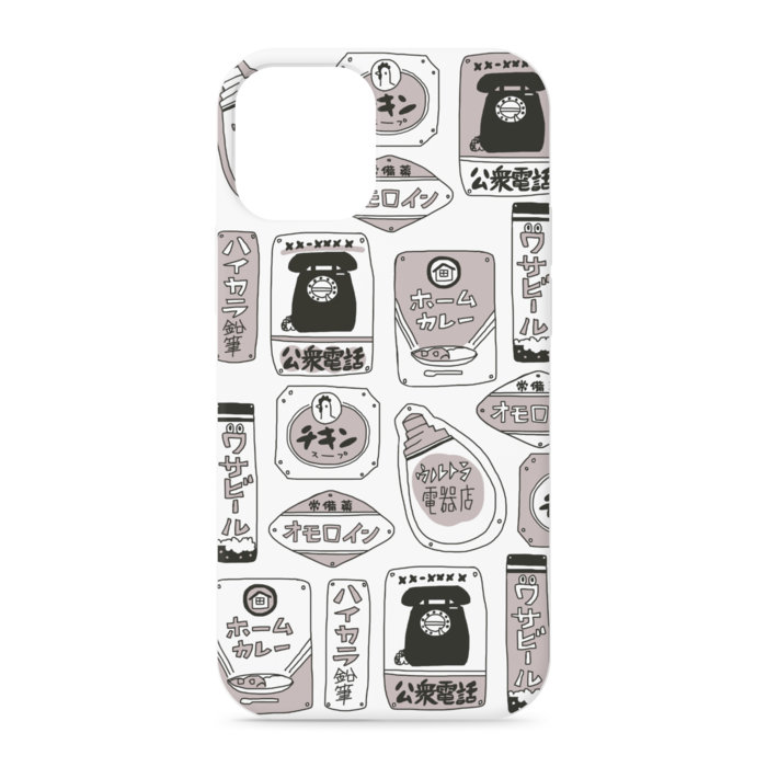 iPhoneケース - iPhone12 mini - 正面印刷のみ
