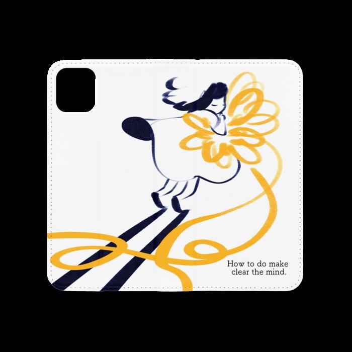 手帳型iPhoneケース(ベルトなし) - iPhone 11 Pro Max - ストラップ穴 なし
