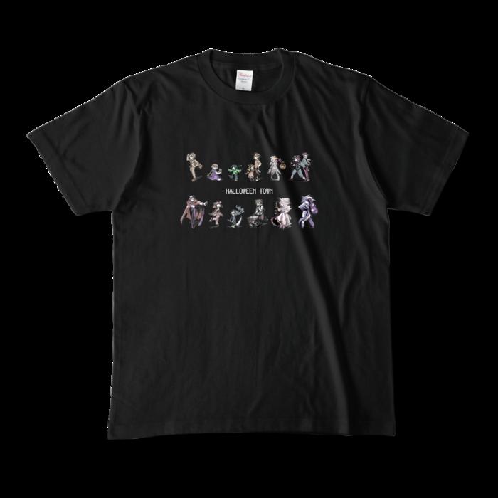 カラーTシャツ(濃色) - M - 正面 - ブラック