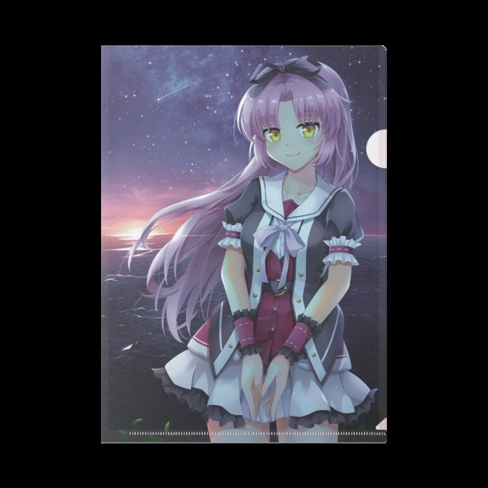 レンブライトa4クリアファイル Ameno Sagiri Booth