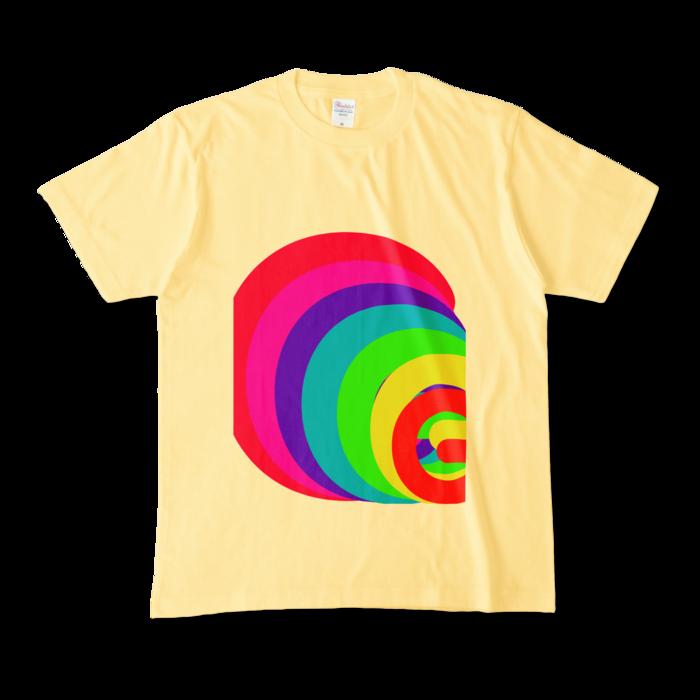 カラーTシャツ - M - ライトイエロー (淡色)