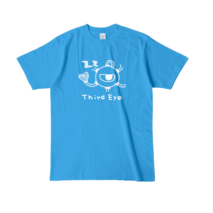 カラーTシャツ(濃色) - L - ターコイズ