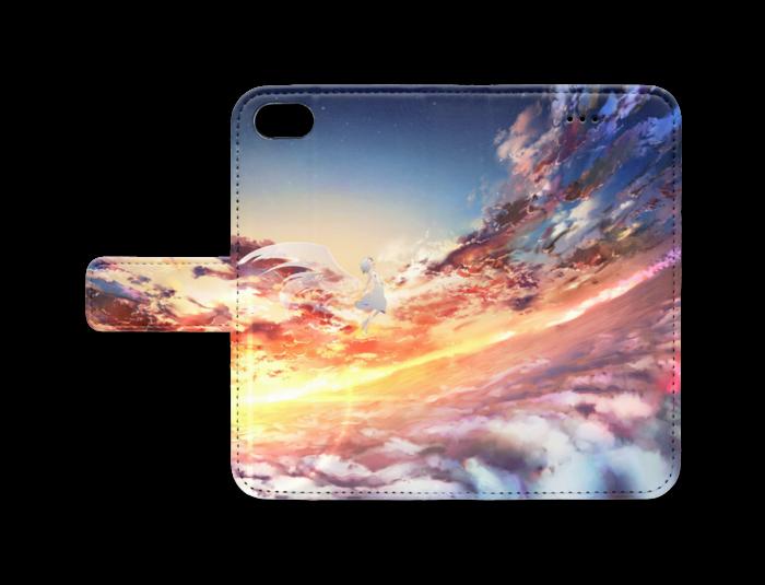 手帳型iPhoneケース - iPhone 8 / 7 / SE2 - ストラップ穴 なし