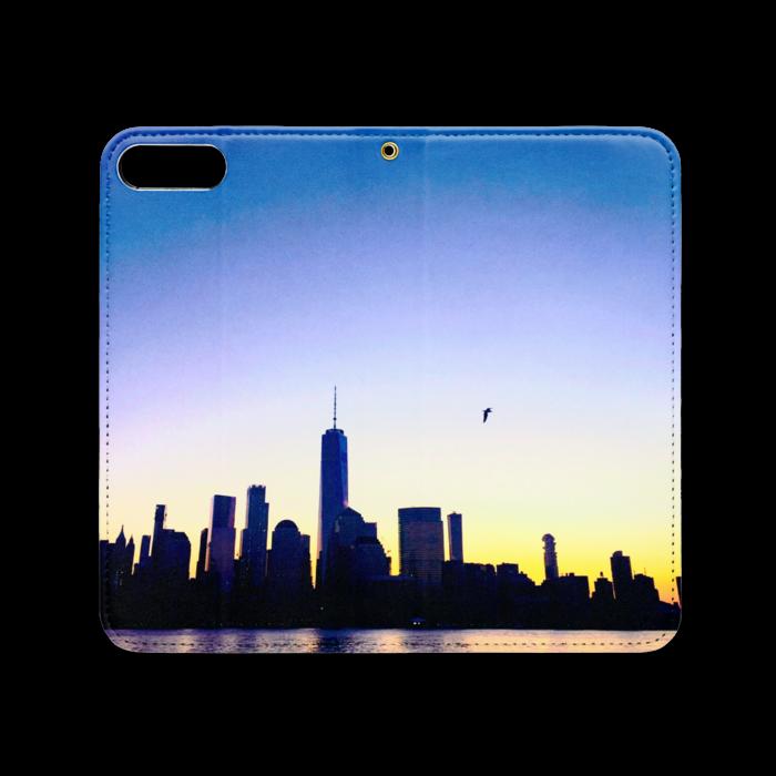 手帳型iPhoneケース(ベルトなし) - iPhone 8 Plus / 7 Plus - ストラップ穴 あり